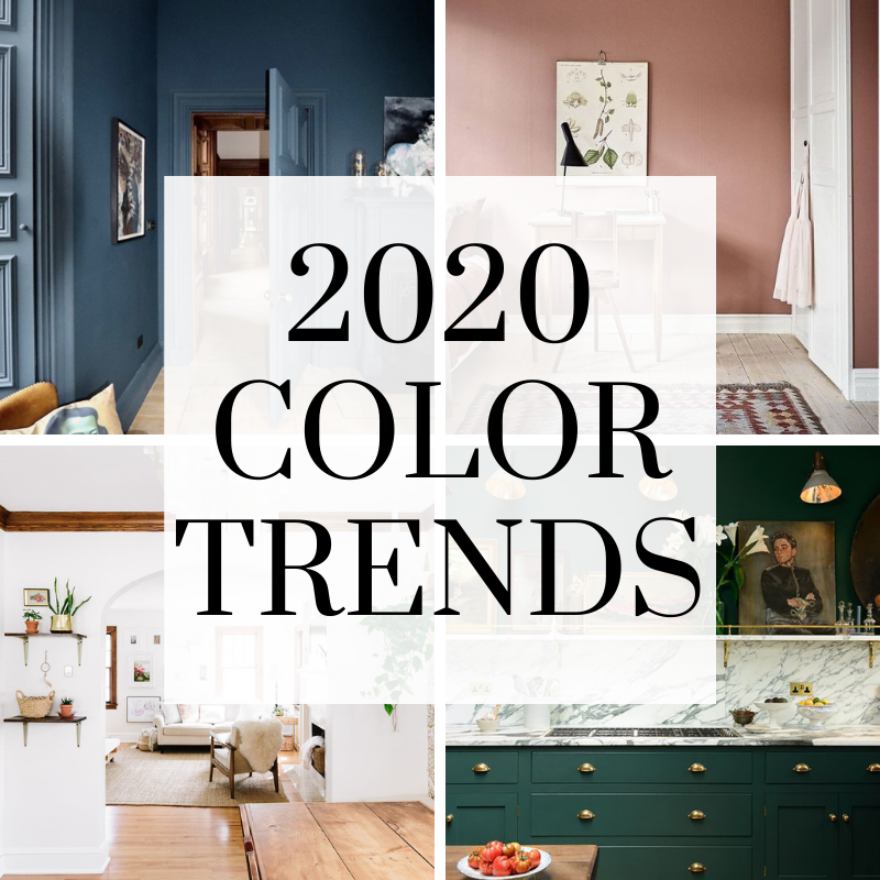2020 Color Trends - Walls By Design