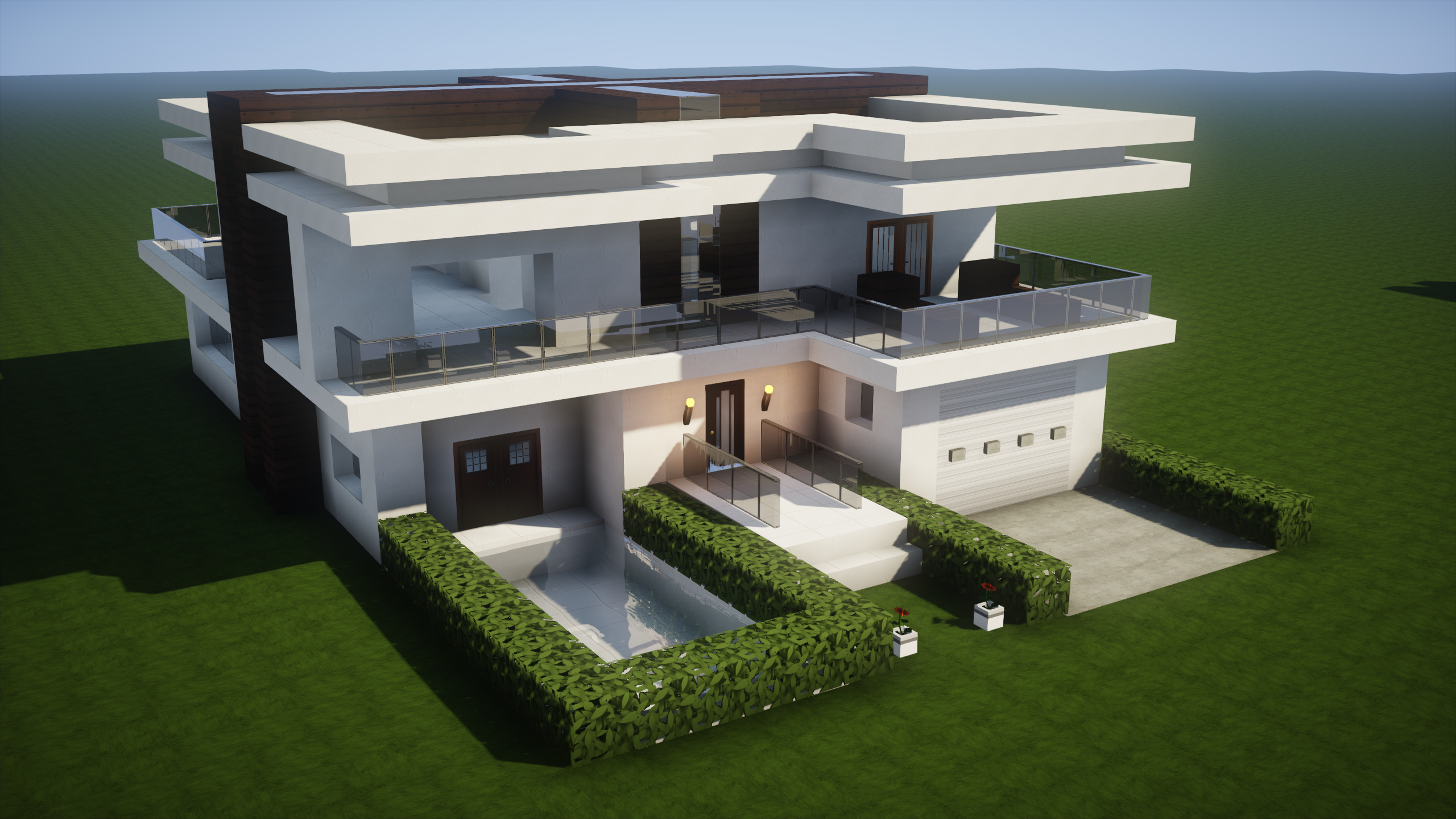 How to build a modern house in minecraft > 2016RISKSUMMIT.ORG