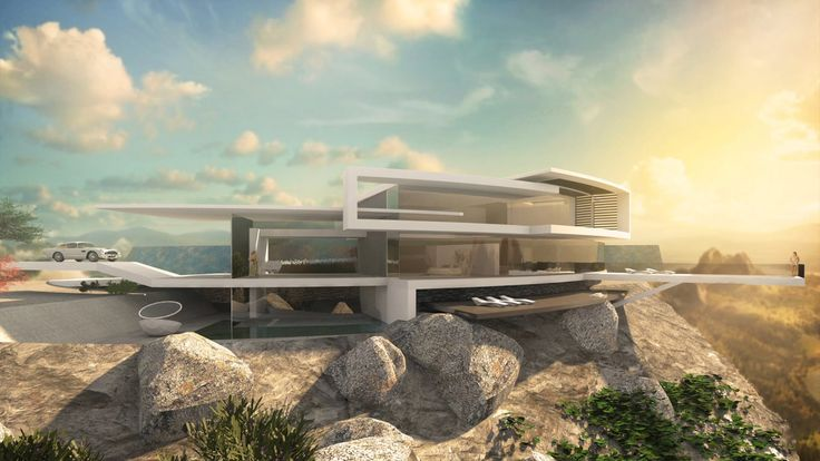 """Architecture Concept House """"Skyhouse II"""" in 2020   Concept ..."""
