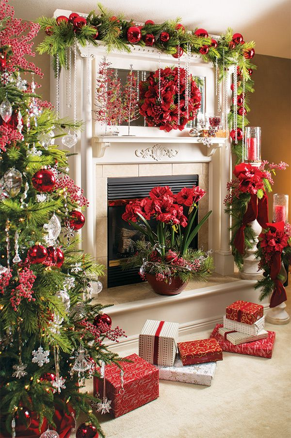 Mantle Decorations For Christmas