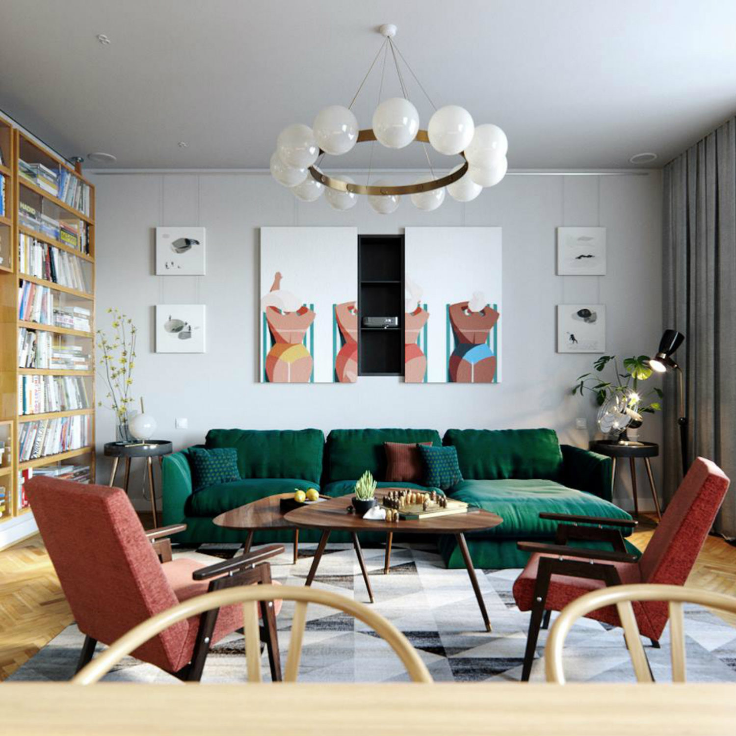 7 Tips to Create a Mid-Century Modern Living Room