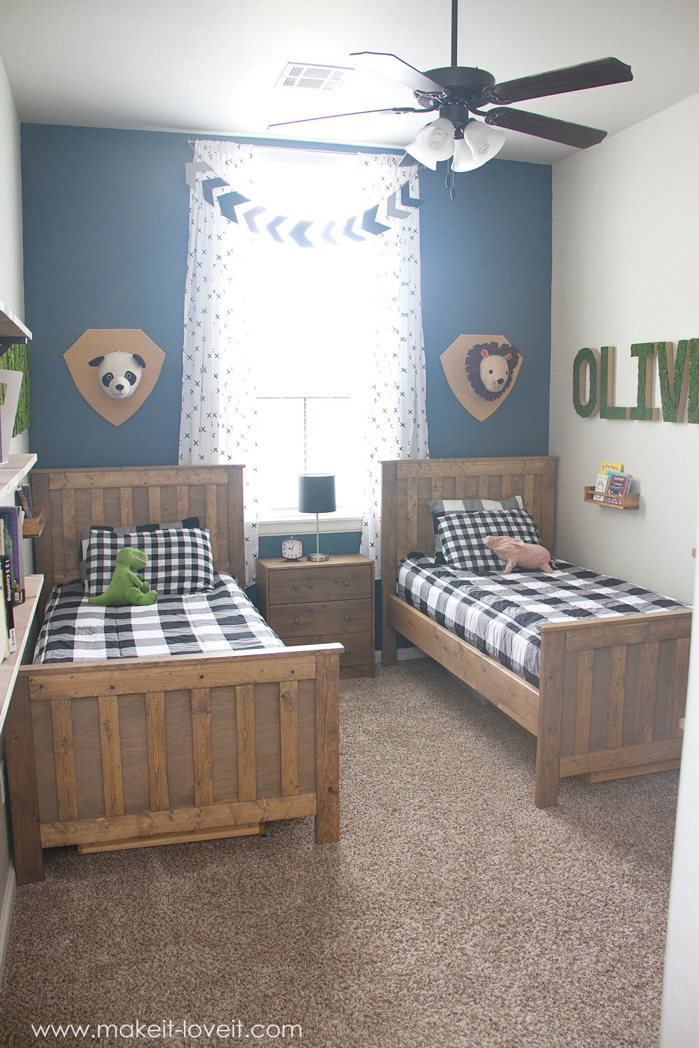 Ideas for a Shared BOYS Bedroom (…yay, all done!!) | Make ...