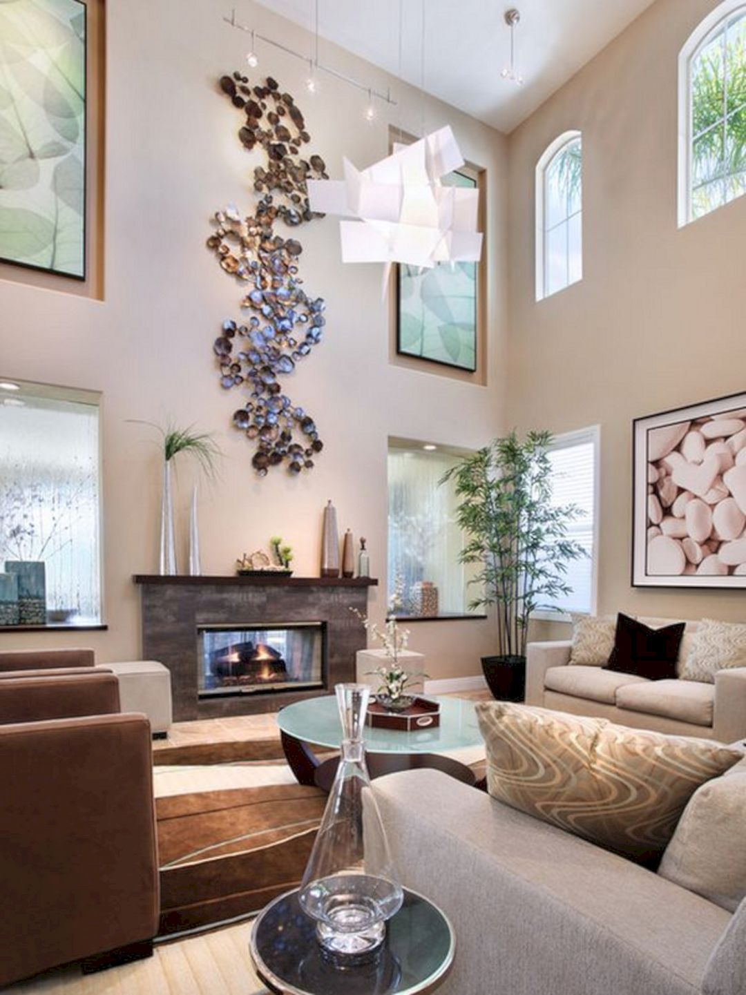 Large Wall Decor for Living Room Ideas - GooDSGN