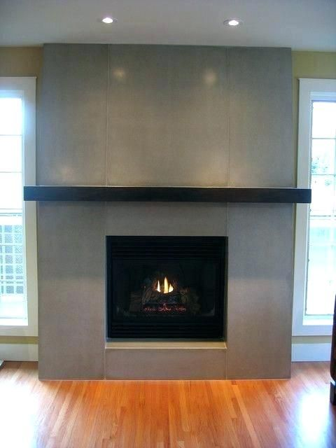 Image result for subway tile fireplace surround | Modern ...