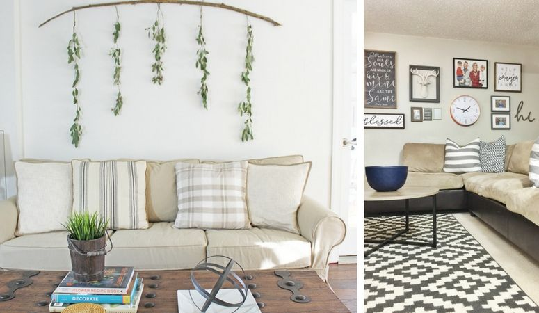 12 Affordable Ideas for Large Wall Decor | Room wall decor ...